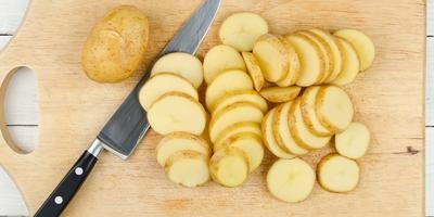 Шашлык из картофеля с салом: может составить конкуренцию мясу