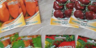 Отчет о получении семян