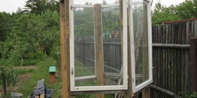 Строим на даче малые сооружения. Душ на даче. 2013 год. Часть 2