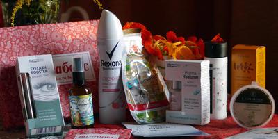 Мой первый приз в  Семидачье - косметика Лизабокс!