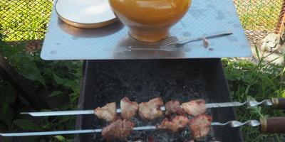 Мясо + чесночный маринад - и Ваш мужчина будет рад!