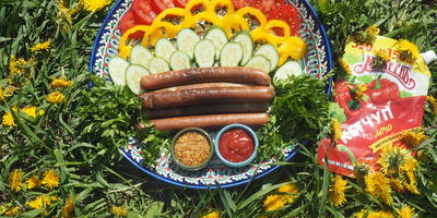 Махеевъ кетчуп, гриль колбаски - пикник проходит, словно в сказке!