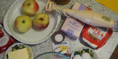 Миндально-яблочный пирог мне удивить гостей помог!