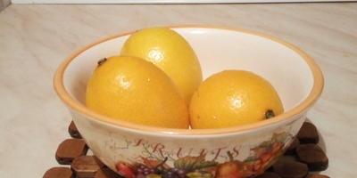 Целебный напиток с имбирём и лимоном