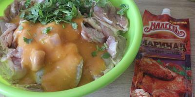 Пальчики оближешь: шашлык из филе куриного бедра в чесночном маринаде