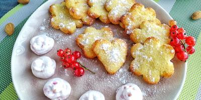 Быстрые творожно-миндальные печеньки для души и отличного настроения