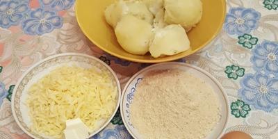 Картофельные шарики с сыром. Простое, но очень вкусное блюдо