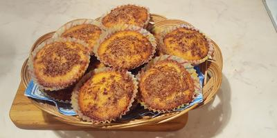 Апельсиновые кексы с корицей