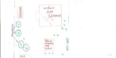 Помогите с планировкой длинного участка с 2 домами