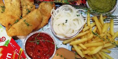 Fish and Chips (рыба и чипсы)