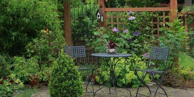 Учимся планировать зону отдыха в саду