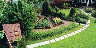 Дачный двор
