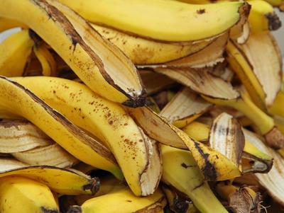 Кожуру банана часто используют для подкормки растений