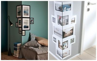 Даже небольшая подборка украсит комнату