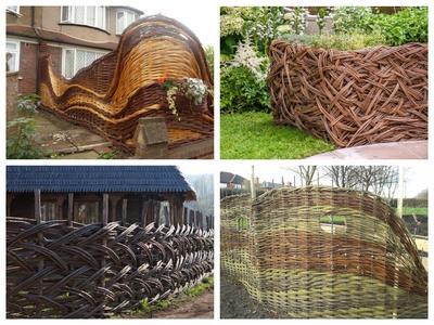 Плетень - это не только заборчик для сельского сада