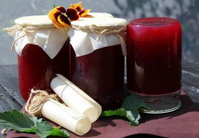 Джем из красной смородины - пошаговый рецепт приготовления с фото