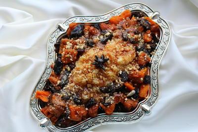 Кускус с сухофруктами по-восточному - пошаговый рецепт приготовления с фото