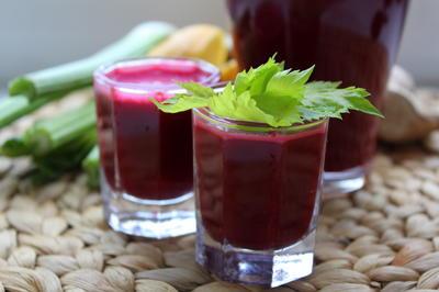 Мультивитаминный сок для укрепления иммунитета. Рецепт