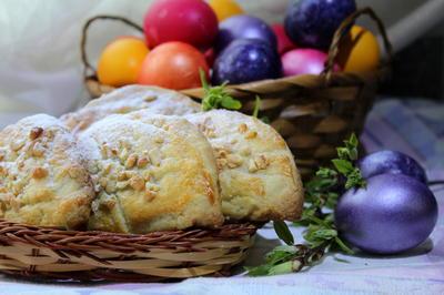 Печенье с ореховой начинкой. Пошаговый рецепт с фото