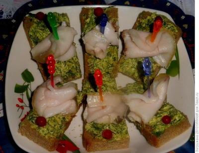Сало с хреном - пошаговый рецепт приготовления с фото