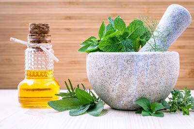 Оливковое масло с мятой