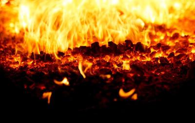 Процесс горения
