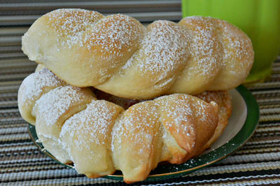 Приглашаю на чай с булочками - пошаговый рецепт приготовления с фото