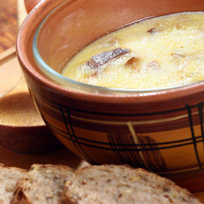 Хлебный суп