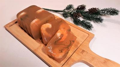 Заливное из креветок - пошаговый рецепт приготовления с фото
