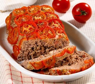 Мясной хлебец в овощной рубашке: рецепт