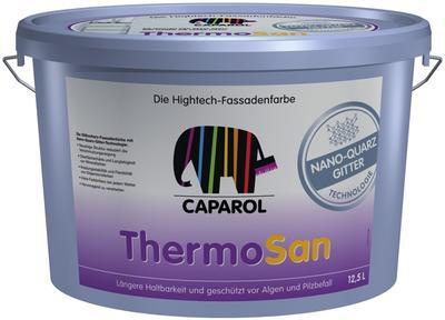 Фасадная краска 'ThermoSan NQG' от компании Caparol не выгорает и надолго сохраняет насыщенность цвета