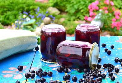 Варенье из кабачка и черной смородины - пошаговый рецепт приготовления с фото