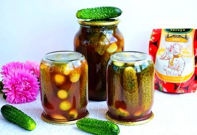 Острые маринованные огурцы с кетчупом чили. Пошаговый рецепт с фото