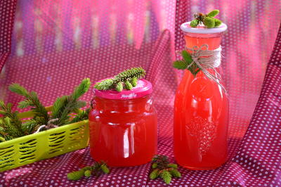 Еловый сироп (из молодого прироста) - пошаговый рецепт приготовления с фото