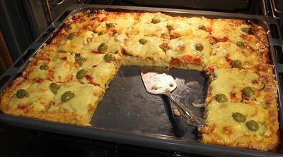 Двойная пицца. Пицца с креветками - пошаговый рецепт приготовления с фото