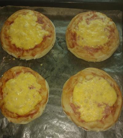Детская; пицца - пошаговый рецепт приготовления с фото