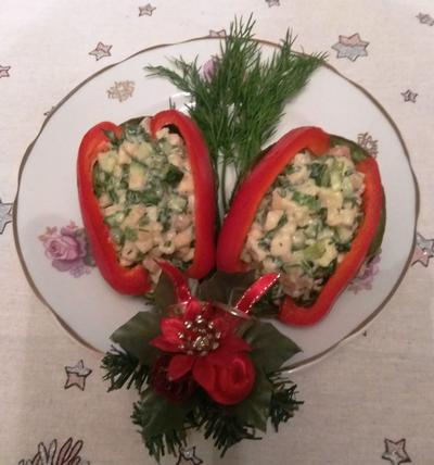 Салат из лосося и авокадо. Два варианта. Рецепт с пошаговыми фото