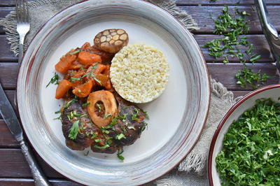 Оссобуко с гремолатой по-милански - пошаговый рецепт приготовления с фото
