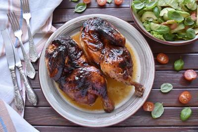 Курица в гранатовом соусе, запеченная в духовке - пошаговый рецепт приготовления с фото