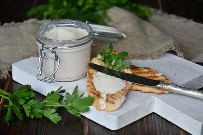 Нежный крем-паштет из куриной грудки. Рецепт приготовления с пошаговыми фотографиями