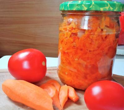 Морковная икра - пошаговый рецепт приготовления с фото