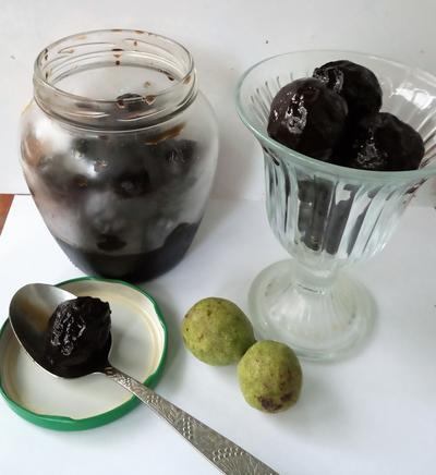 Варенье из грецких орехов - пошаговый рецепт приготовления с фото