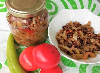 Приправа по-абхазски, или Аджика с орехами - пошаговый рецепт приготовления с фото