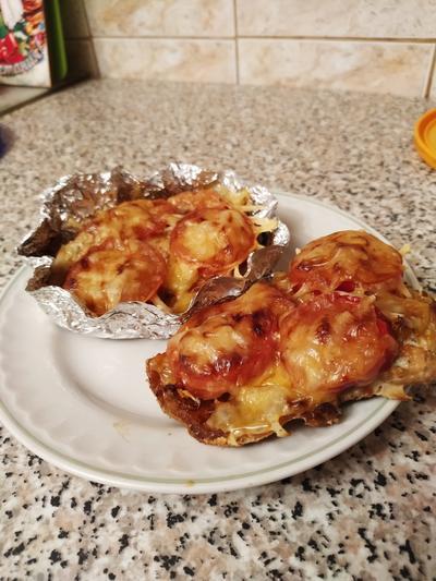 Филе горбуши с овощами в лодочках - пошаговый рецепт приготовления с фото