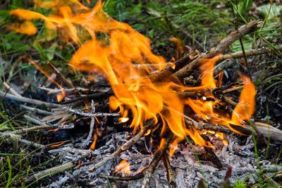 Сода предотвратит распространение пламени