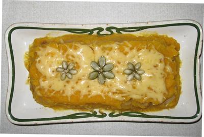 Тыквенно-фруктовый десерт - пошаговый рецепт приготовления с фото