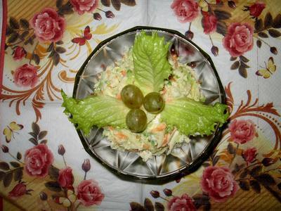 Салат с маргеланской редькой, морковью и яблоком. Пошаговый рецепт с фото