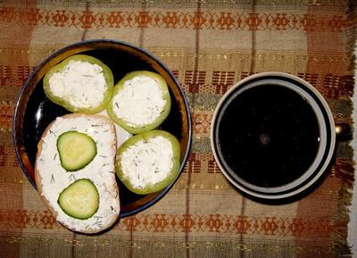 Творожный крем с чесноком и зеленью. Рецепт с пошаговыми фотографиями
