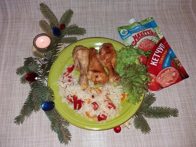 Куриные голени в сладкой глазури - пошаговый рецепт приготовления с фото