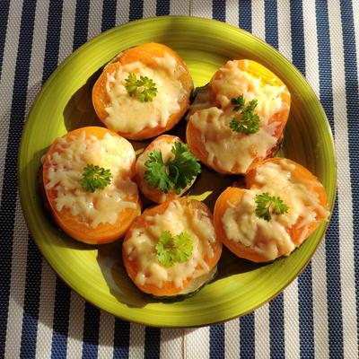 Жареные кабачки с помидорами и сыром. Пошаговый рецепт приготовления с фото